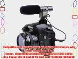 Neewer? SG-108 Camera Shotgun DV Stereo Microphone for Canon EOS 1D Mark IV 5D Mark II III