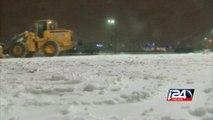 New York shuts down as winter storm blasts US