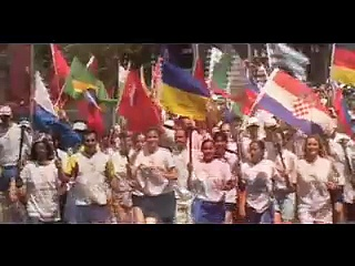 World Harmony Run Video Advertise