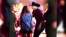 Ashton Kutcher & Mila Kunis Let Loose At Stagecoach Music Festival