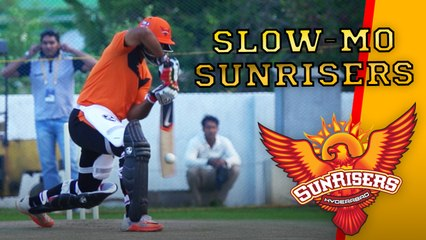 The Sunrisers Hyderabad in Super Slow Motion