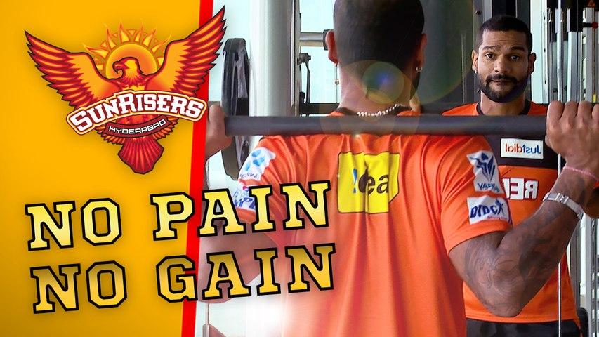 No Pain, No Gain! The Orange Army are training hard