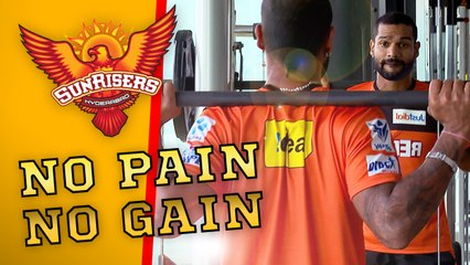 No Pain, No Gain! The Orange Army are training hard