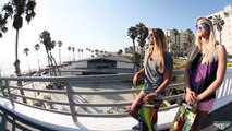 California Girls Skating, Surfing & Sliding - Surfing in Australia - Surf Lifestyle