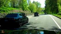 "2001 BMW 740i E38 on (STR 607) custom 20"" Concave Vossen CV3 Style Wheels / Rims"