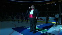 Mark Donnelly Sings the Canadian Anthem in HD