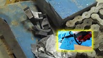Melting lead and mixing alloys for the Powder Coated Cast