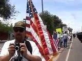 Mexican vs Neo-nazi JT Ready white minutemen Sheriff Arpaio supporters