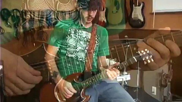 How to Play Nirvana's Smells Like Teen Spirit : Solo Practice: Nirvana Teen Spirit on Guitar