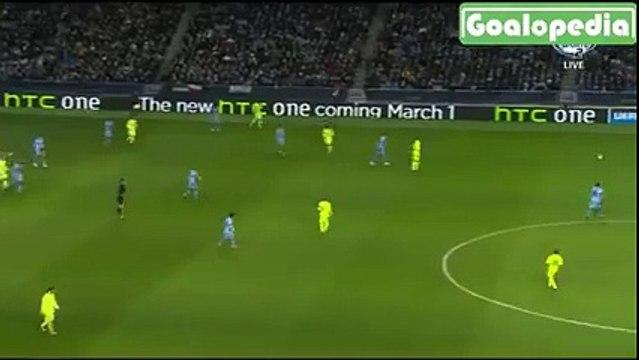 Man City - FCBarcelona suarez 0-2