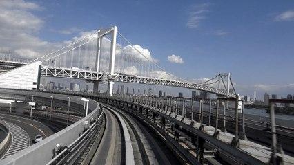 Tokyo Daiba vers Shimbashi – Yurikamome Line