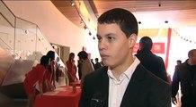 Entrevistas con jóvenes pilotos en entrega IV Beca Santander Jóvenes Promesas