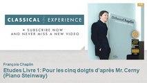 Claude Debussy : Etudes Livre 1 : Pour les cinq doigts d'après Mr. Cerny - Piano Steinway