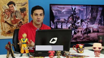 Lançamento de Mortal Kombat X e entrevista com Pitty