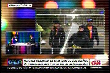 Ismael Cala rompió en llanto durante entrevista a Maickel Melamed