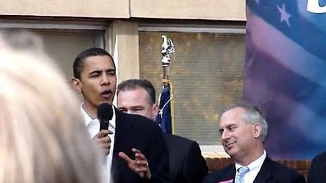 Barack Obama @ Jim Webb Rally in Richmond