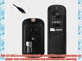 RW-221/DC2 Wireless Shutter Remote Control for Nikon D90 D3100 D5000 D7000