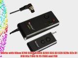 Satechi WR-B100 Wireless Remote Control for Nikon D700 D300 D300S D200 D3 D2H D2Hs D2x D1 D1H