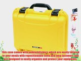 Nanuk 920 Case with Padded Divider (Yellow)