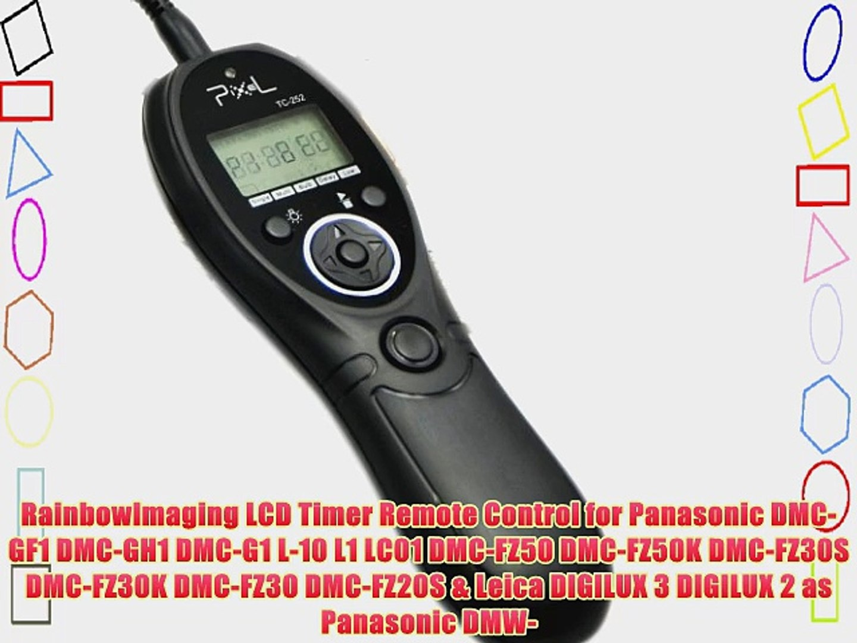 Remote control for Panasonic Lumix DMC-GF1 DMC-GH1 Wired remote control