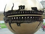 """Vatican Museum """"Sphere Within Sphere"""" Close up"""