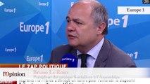 """TextO' : Défense - Jean-Paul Huchon : """"S'attaquer à l'armée dans un monde aussi dangereux, je pense que ça penche pour Le Drian"""""""