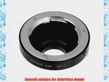 Fotodiox Pro Lens Mount Adapter for Minolta MD MC lens to C-mount Movie Cameras and CCTV Cameras