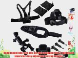 Eggsnow Glove-style Wrist Strap Arm Mount   Chest Strap   Head Strap   WIFI Remote Protection