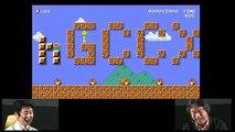 Quand Miyamoto n'arrive pas à terminer un niveau de Mario Maker