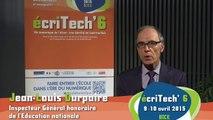 Jean-Louis Durpaire : un souhait concernant le numérique à l'École ?