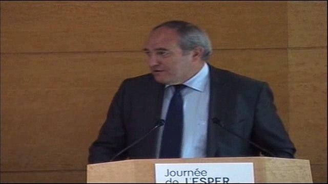 """Jean-louis Bianco lors du débat """"Faire vivre les valeurs de la République"""" organisé par L'ESPER (Partie 1)"""