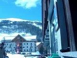 Valloire UCPA 2006 - terrasse