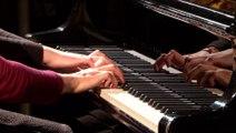 Sonate à quatre mains de Poulenc par Lidija & Sanja Bizjak | le Live du Magazine