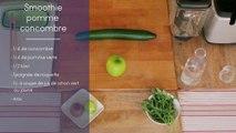 Recette - Le smoothie pomme concombre