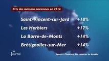 Economie : Le prix de l'immobilier en baisse (Vendée)