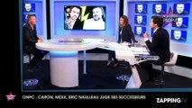 Caron, Moix, Eric Naulleau juge ses successeurs chez Laurent Ruquier