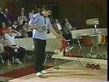 Most amazing duckpin bowling strikes ever!!  Incredible match w/ triple strikes