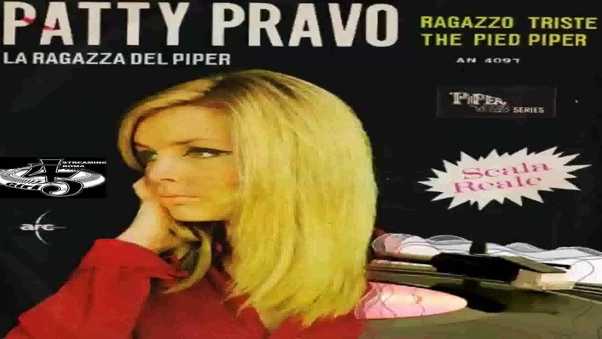 RAGAZZO TRISTE/THE PIED PIPER Patty Pravo 1966 (Facciate:2 ...