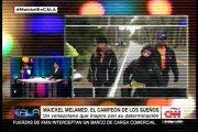 Ismael Cala rompe en llanto durante entrevista a Maickel Melamed