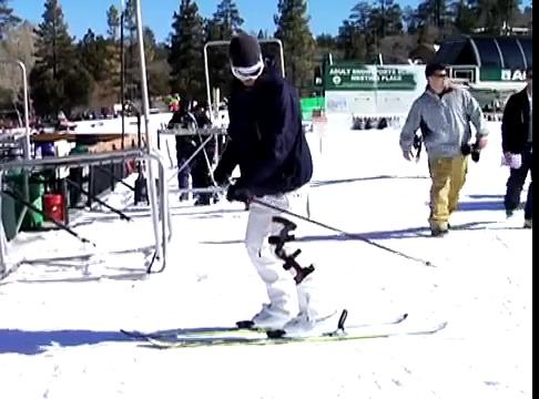 How to Snow Ski : How to Snow Ski Backwards
