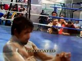 Why is Mayweather afraid of Manny Paquiao? (see how Manny trains!)
