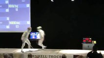High end sabre fencing: the final of the men's sabre World Cup Warsaw 2011