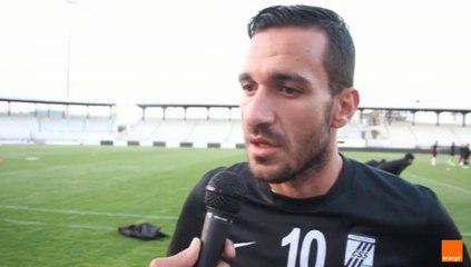 تحضيرات النادي الصفاقسي لمباراة العودة ضد فريق العلمة الجزائري