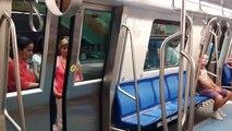 """Trenul CAF """"Mures"""" in prima zi de circulatie pe M2 / Bucharest Metro"""