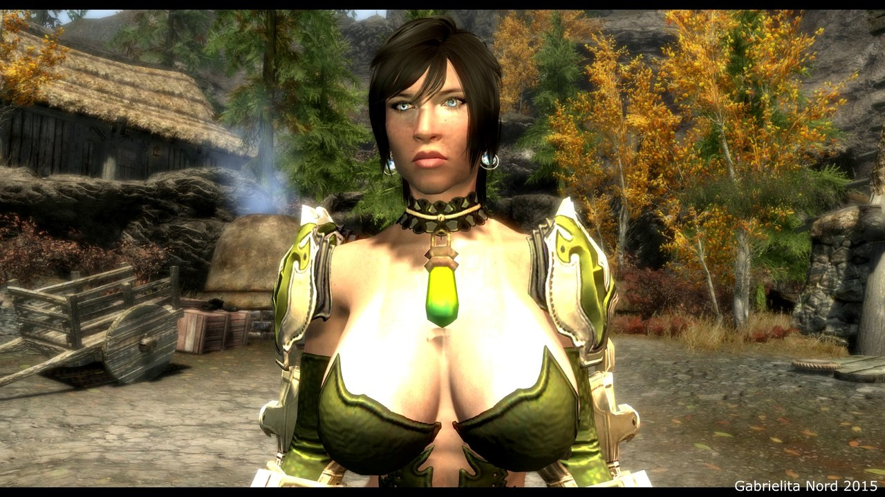 Skyrim Hot Sexy Blade & Soul HeiJun Armor for CBBE Bodyslide Mod Review