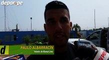 Alianza Lima: Paulo Albarracín le envió un mensaje a los hinchas de Universitario de Deportes