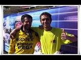 Valentino Rossi and Graziano Rossi