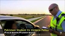 Australian Police (Victoria) vs Pakistani Students - Very Hilarious English Conversation -