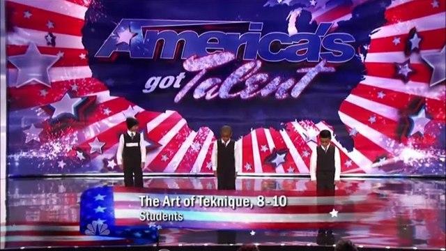 3 kids dancing americas got talent
