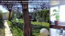 A vendre - maison - SAINT QUENTIN FALLAVIER (38070) - 5 pièces